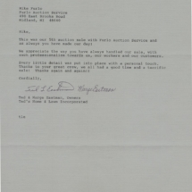 Ted's Letter